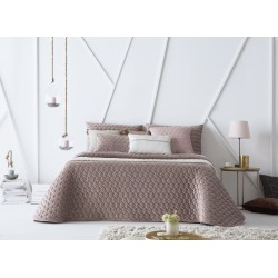 Bedspread Naroa Malva 250x270 cm