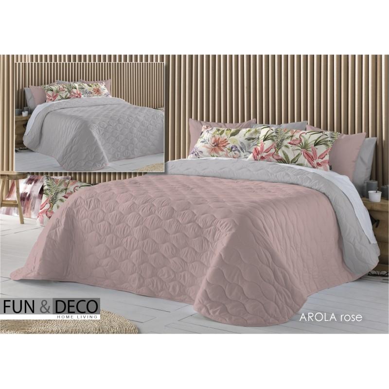 Bedspread Arola Rose 250x270 cm microfiber