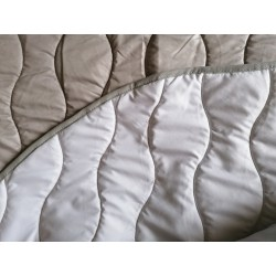 Narzuta Arola Blanco 250x270 cm mikrofibra