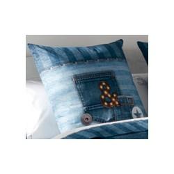 Spilveni spilvendrāna Jeans 60x60 cm