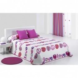 Bedspread Lovepi 190x270 cm