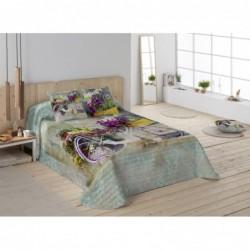 Bedspread Garden Bike 180x260 cm