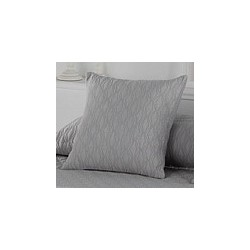 Pillowcase Happy Gris 50x50 cm