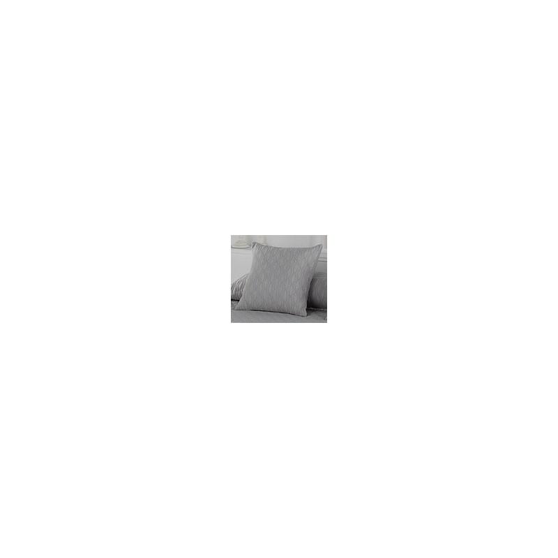 Pillowcase Happy Gris 50x50 cm