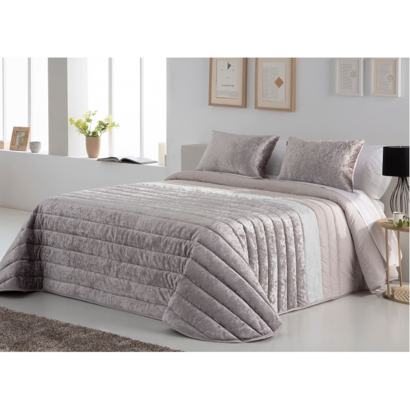 Bedspread Boston Beig 250x270 cm, 2 pillow cases included