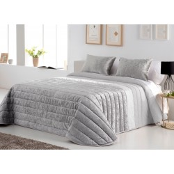 Bedspread Boston Gris 250x270 cm, 2 pillow cases included