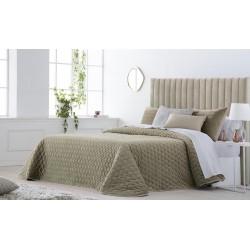 Bedspread Smart Beige 250x270 cm