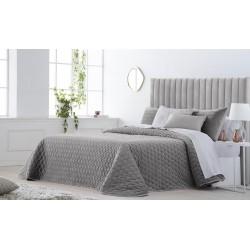 Bedspread Smart Gris 250x270 cm