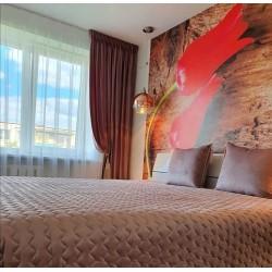 Bedspread Naroa Malva 180x270 cm