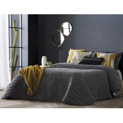 Bedspread Nantes Gris 250x270 cm