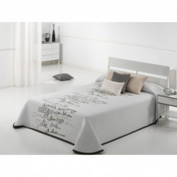 Bedspread Letter 250x270 cm
