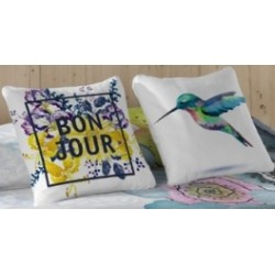 Pillowcase Bon Jour 50x50 cm